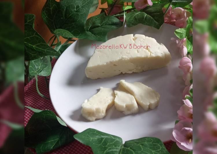 Resep Mozzarella KW (3 Bahan)