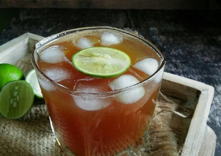 Resep ES GULAS GULA ASAM / Tamarind Iced Tea #pr_recookmintradisional