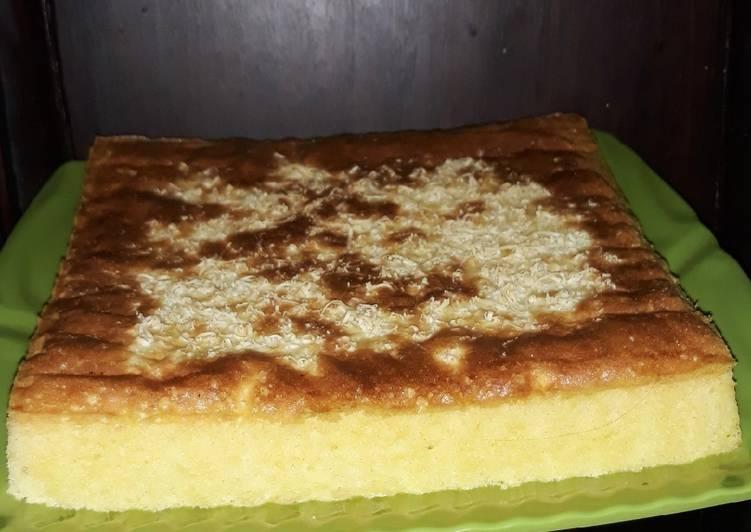 Resep Cheesy Sponge Cake