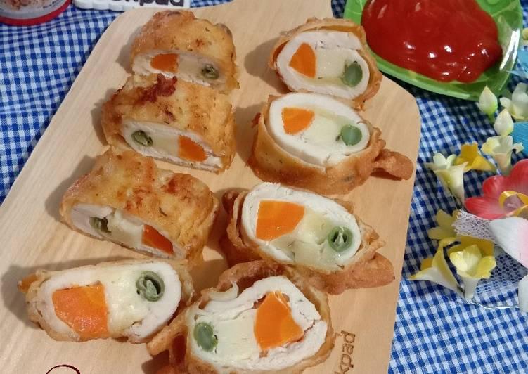 Resep Chicken Roll // Ayam Gulung