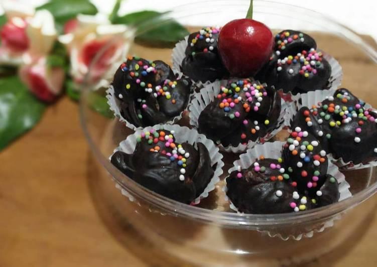Resep Choco crunch with raisin (37)
