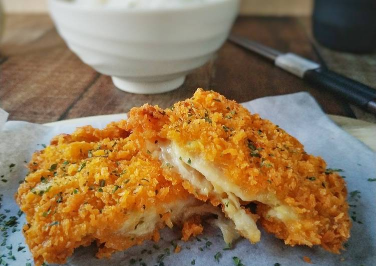 Resep Oyster Mashroom Cheese Katsu