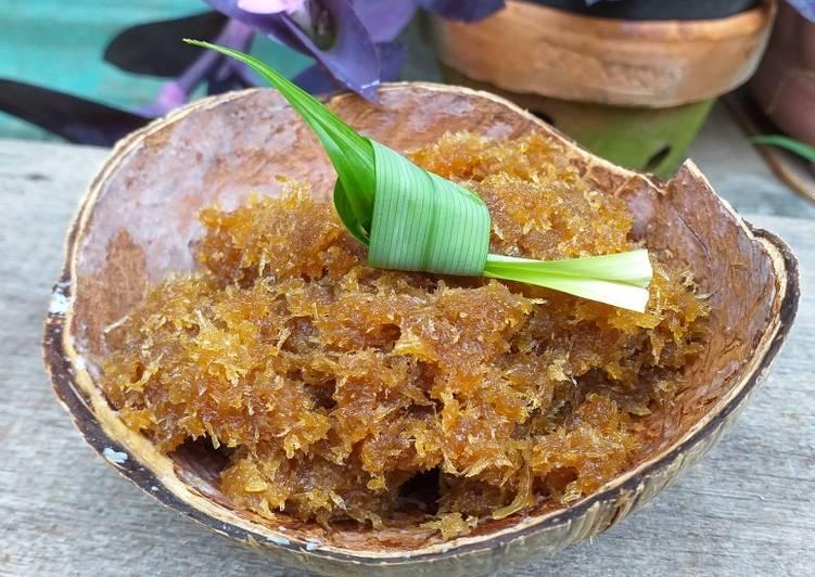 Resep Unti Kelapa/Enten-Enten Gula Jawa