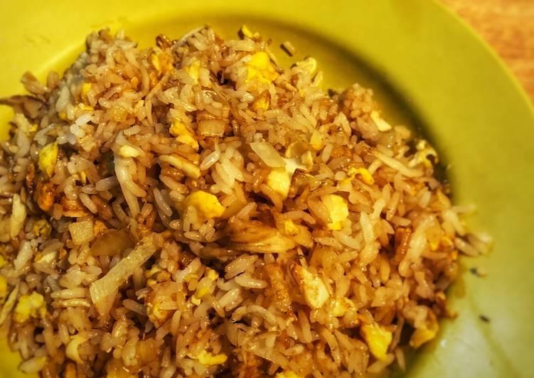Resep Nasi goreng ikan teri medan ala Tiger Kitchen
