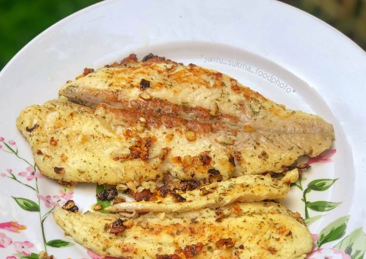 Resep Pan Grilled Dory