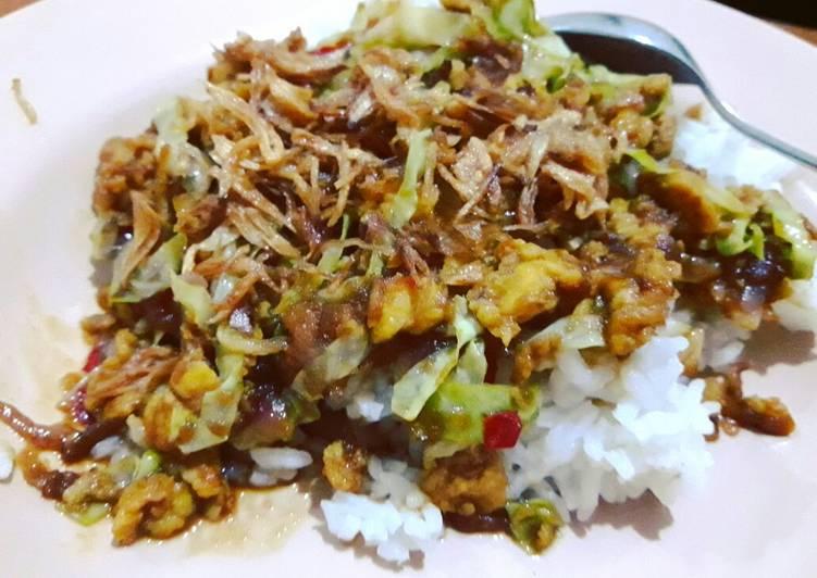 Resep Nasi Telur Gongso ala Semarang