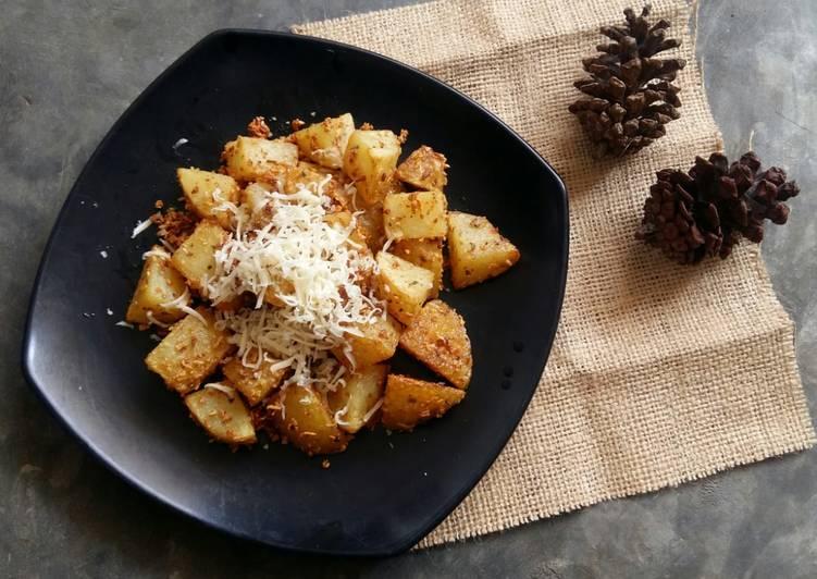 Resep Garlic Potato ala Fitriyani