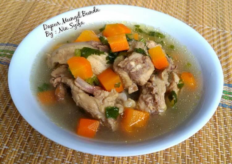 Resep Sop Tulang Ayam