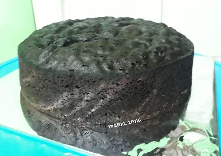 Resep Brownies kukus 4 telur untuk base cake