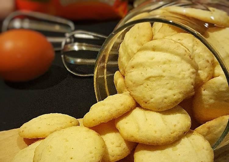 Resep 1Kukis Keju Maizena (Cheesy Cornstarch Cookies) Gluten free