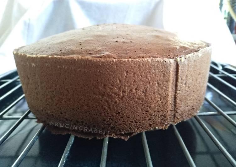 Resep (2.Base Cake 3 Telur (One-Bowl Method, no SP/BP)