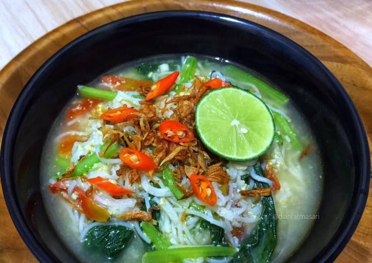 Resep Misoa Kuah Super Enak & Simple