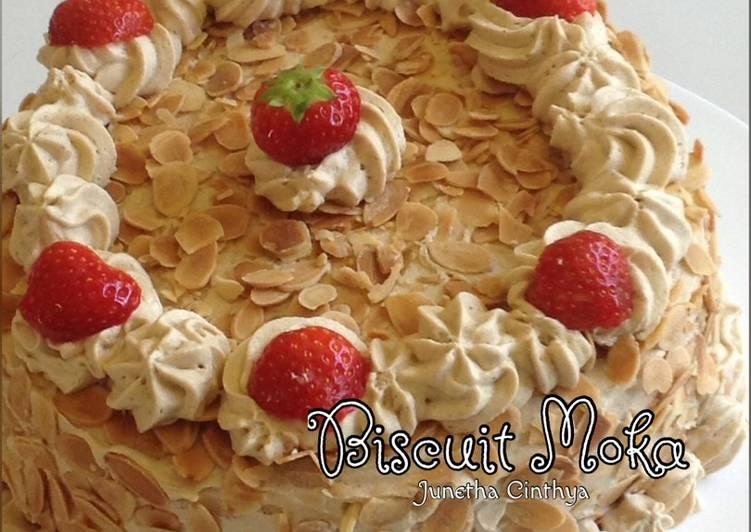 Resep Biscuit Moka
