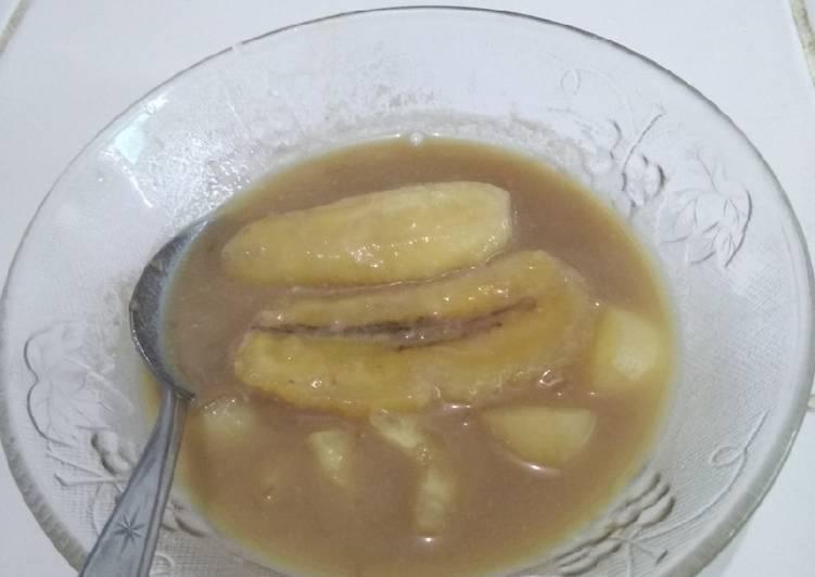 Resep Kolak pisang sederhana