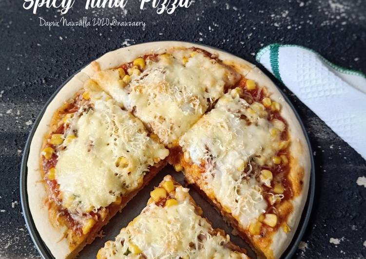 Resep Spicy Tuna Pizza