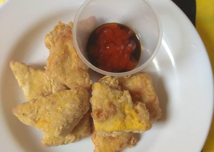 Resep Crispy Nugget Tofu MPASI