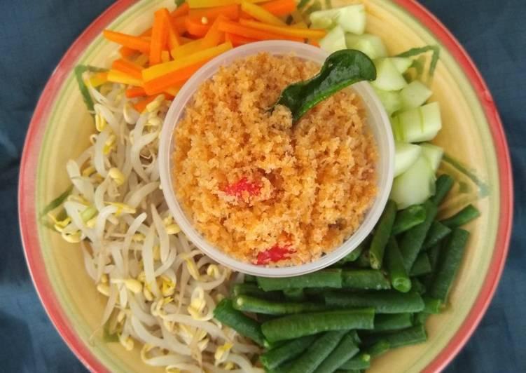 Resep Urap Sayuran Bumbu Gongso