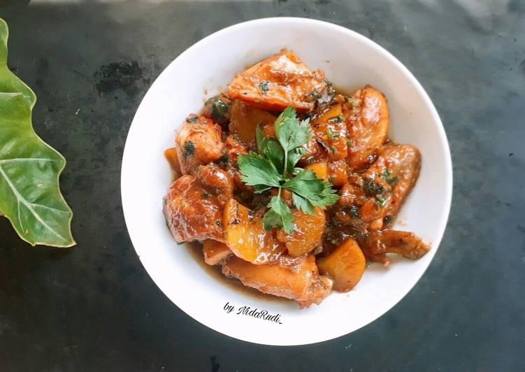Resep Bistik Ayam khas Banjar