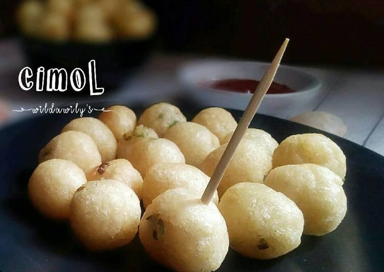 Resep Cimol #pr_jajanandaerah (+tips biar ga meledak)