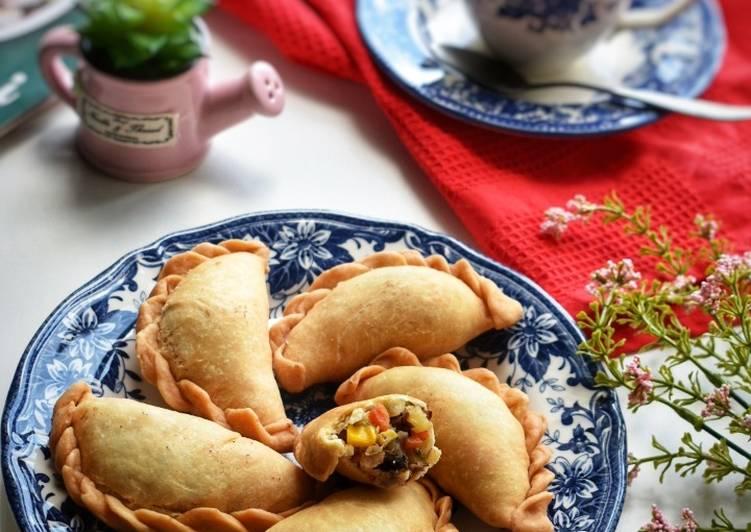 Resep Pastel Renyah Isi Sayur & Daging