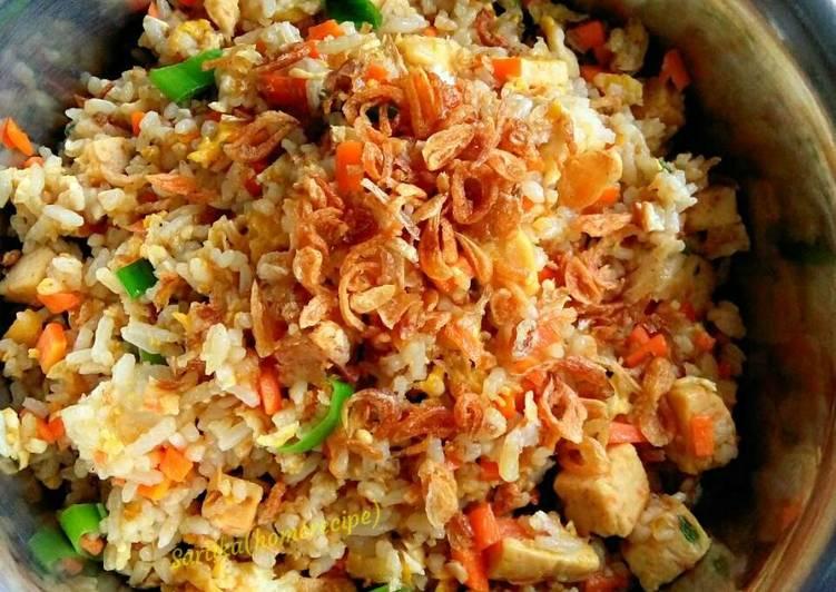 Resep Nasi goreng special (masakan rumahan sederhana) ala me
