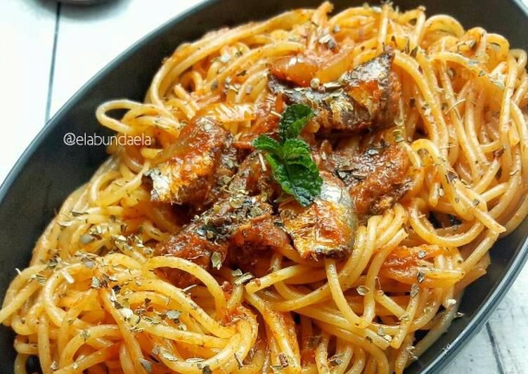 Resep Spaghetti Sarden