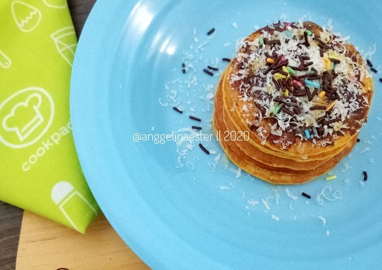 Resep Oat Carrot Pancake