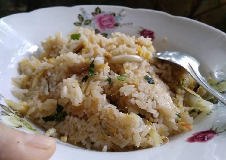 Resep Nasi goreng teri