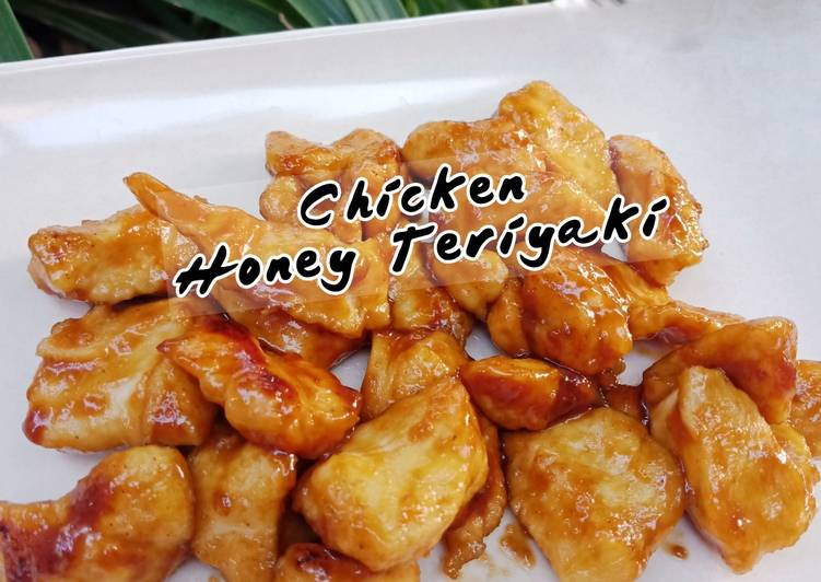 Resep Chicken Honey Teriyaki (menu diet)