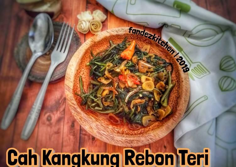 Resep Cah Kangkung Rebon Teri