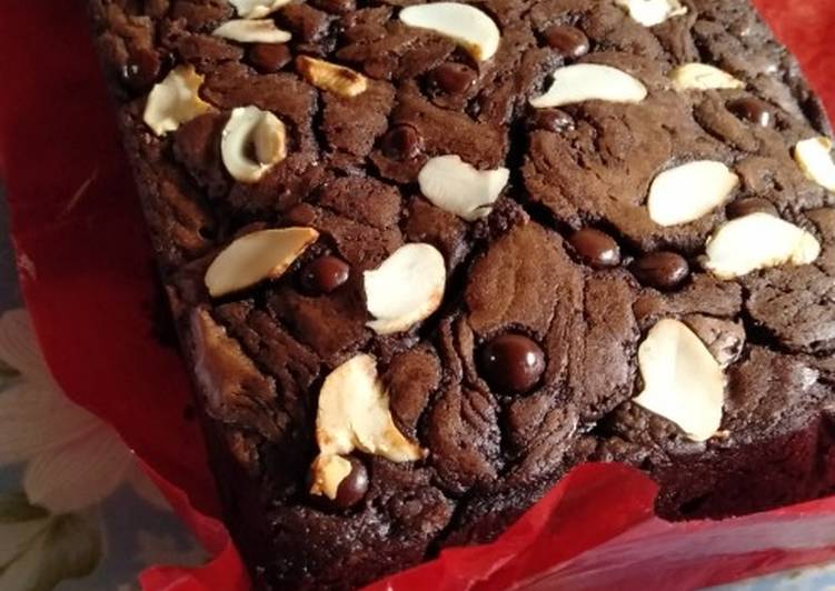 Resep Shiny Crust Brownies