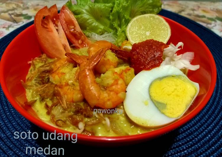 Resep 180.Soto Udang Medan (reCook-Tanti)