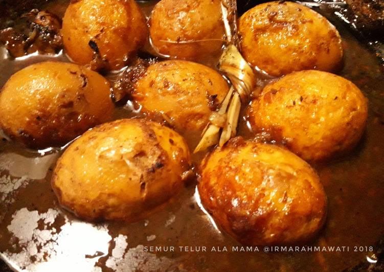 Resep Semur Telur Ala Mama #pr_anekasemur