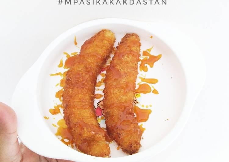 Resep Pisang Goreng Crispy Saus Karamel - MPASI