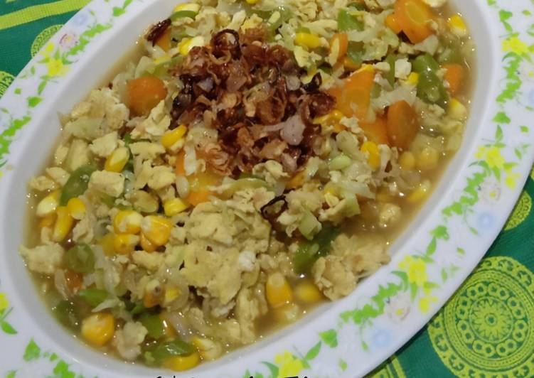 Resep Cah Sayur Mix Telur