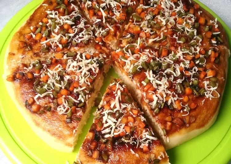 Resep Pizza topping sayuran