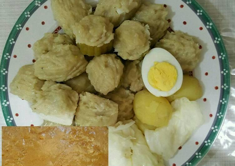 Resep Siomay Bumbu Kacang
