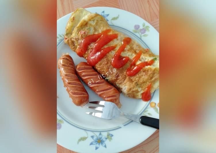 Resep Omelete ala kadarnya