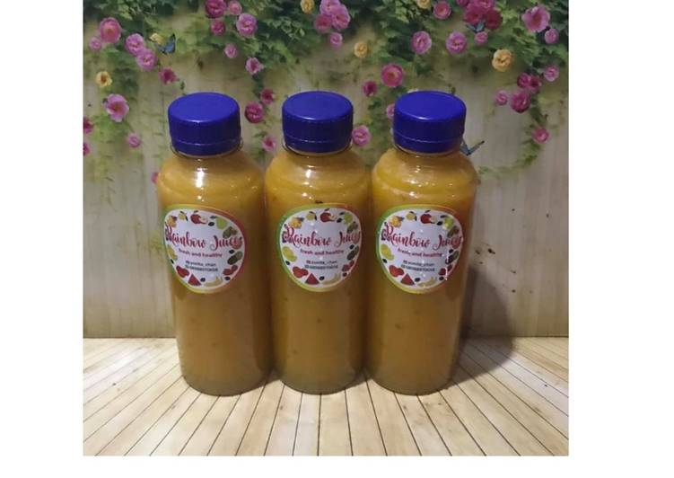 Resep Diet Juice Pumpkin Melon Grape Plum