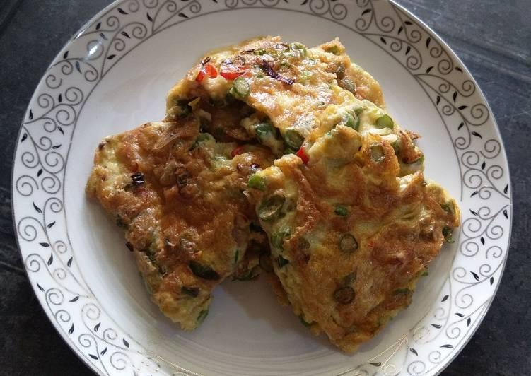 Resep Telur dadar buncis