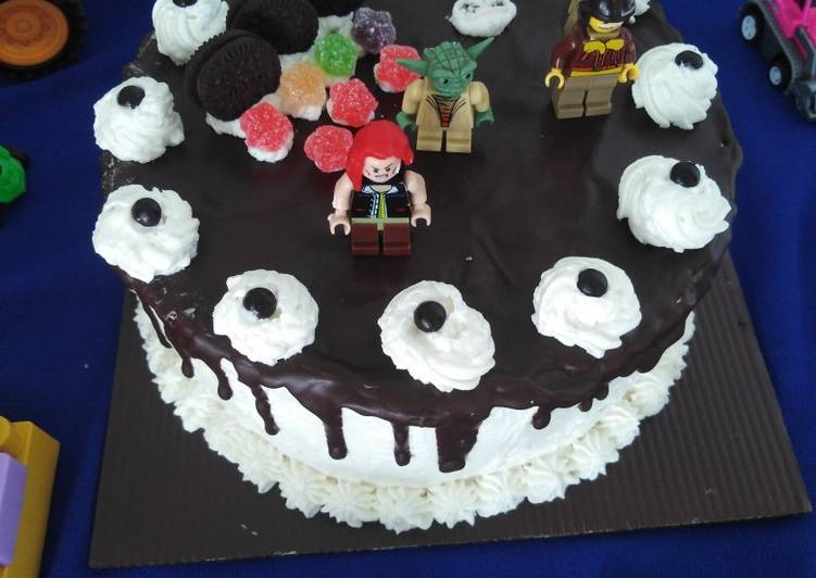 Resep Sponge Cake Coklat (base cake untuk black forest tart)