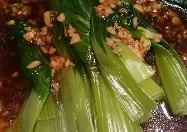 Resep Cah pokcoy bawang