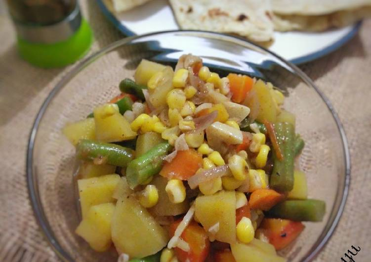 Resep Vegetable Curry