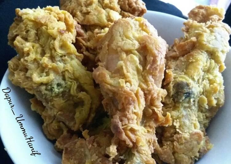 Resep Ayam Krispi dg 5 bumbu rahasia