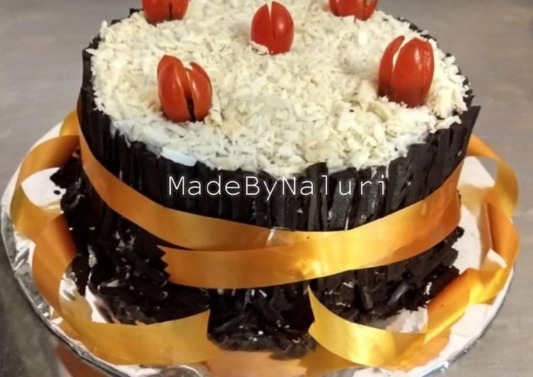 Resep Blackforrest Cake with Tomato Cherry