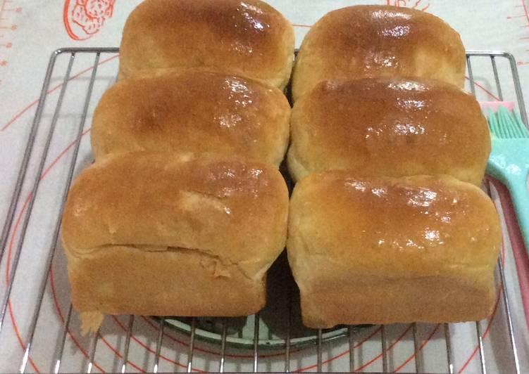 Resep Roti Tawar (Soft Hybrid Sourdough)