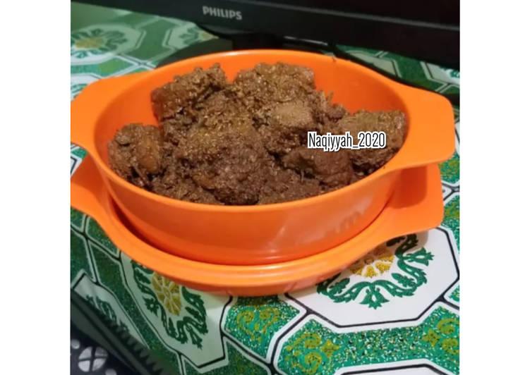 Resep 1Rendang Sapi bumbu Indofood