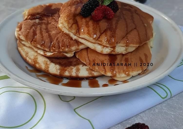 Resep Pancake Fluffy