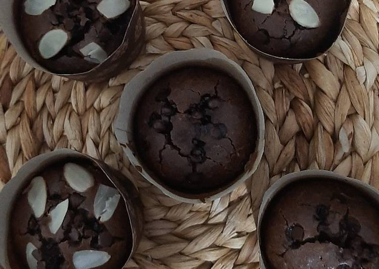 Resep Coffee choco muffin with brown sugar