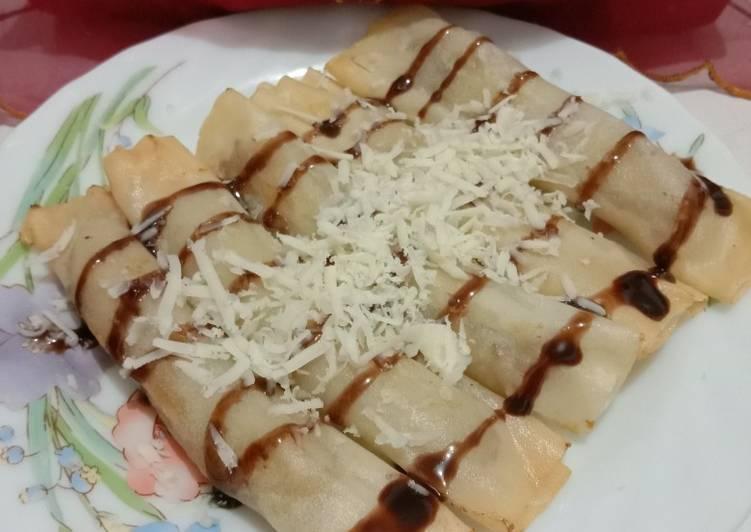 Resep Banana Roll Crispy